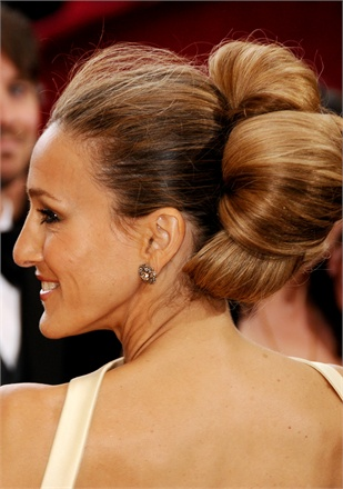 SJP Wedding Bun