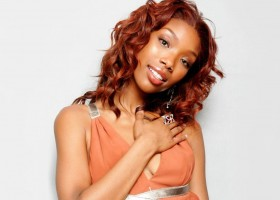 Brandy in Red hair
