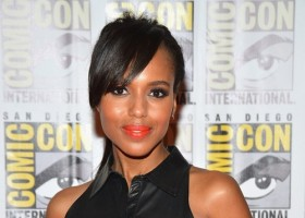 Kerry Washington at Comic Con 12