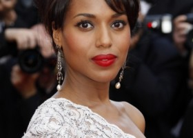 kerry-washington-elegant-updo-hairstyle-may-09 WEDDING