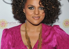 Marsha+Ambrosius in 2012