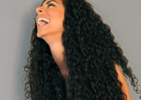 Deep Curly Weave  Hair Style