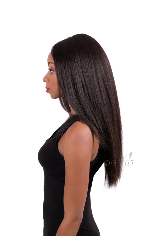 Ironed natural hair