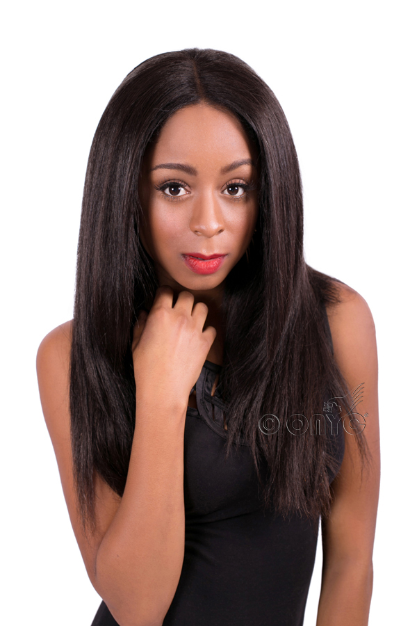 ONYC flat ironed hair