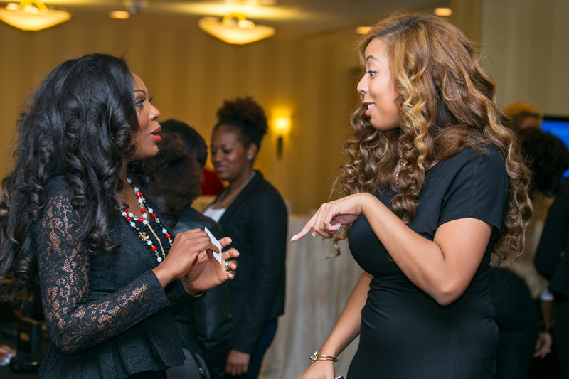 thelma okoro and lexi with the curls talking