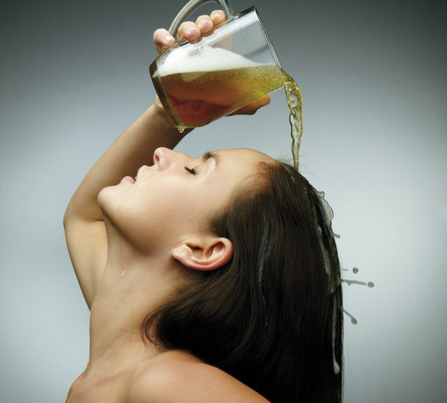 beer can bring back the vitality in your natural hair.