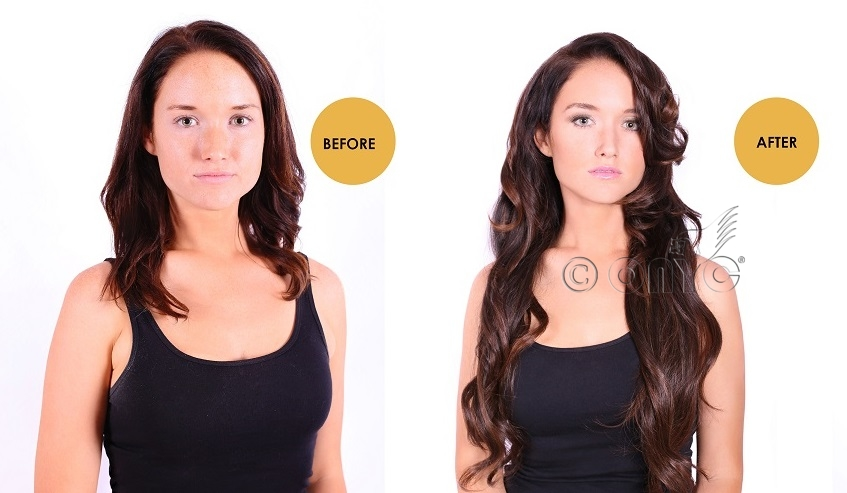Virgin hair Extensions - ONYC Hair