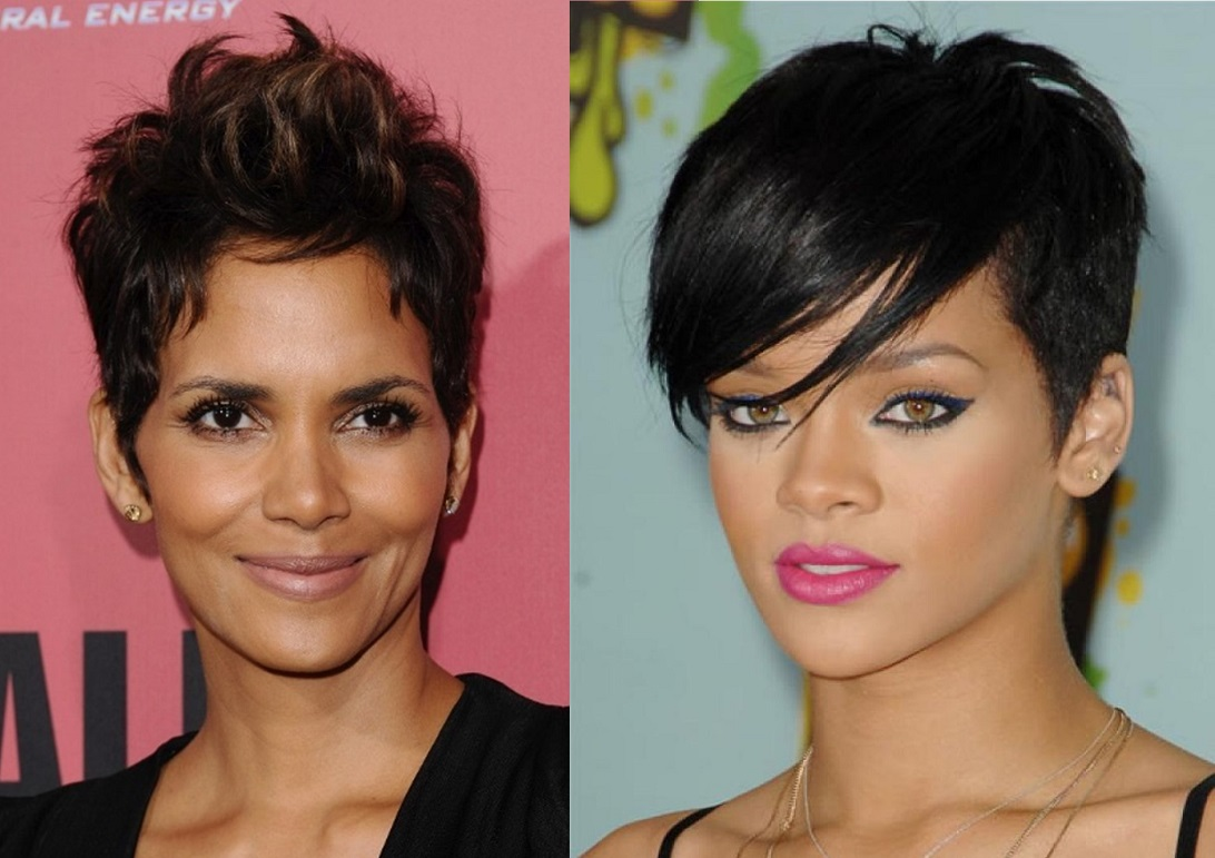 Popular Hairstyles_Pixie Cut black hair