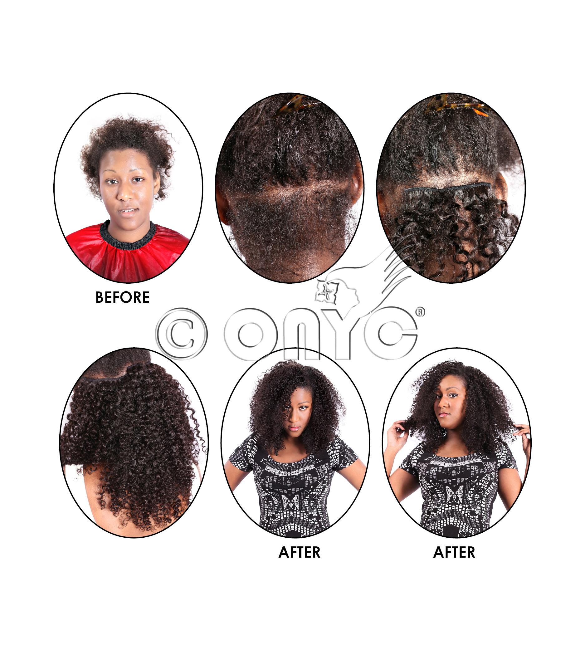 ONYC Hair Clipins curly addict 3b